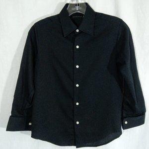 Sean Jean Boys' Button Up Black Nice! EUC
